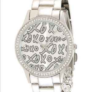 XOXO stainless steel watch